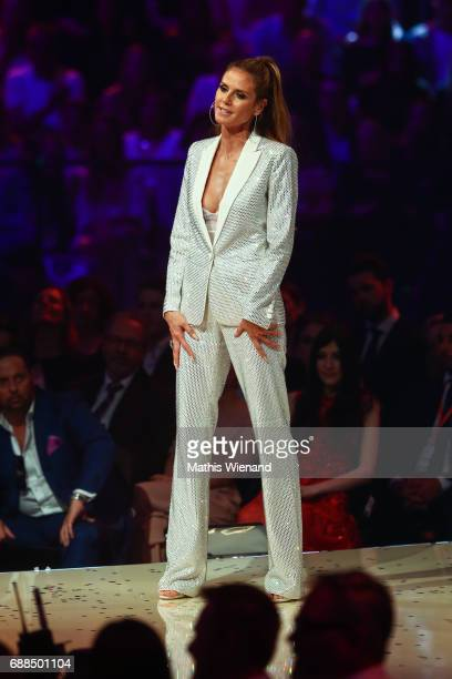 Heidi Klum attends the Germany's Next Topmodel Final at KoenigPilsenerARENA on May 25 2017 in Oberhausen Germany