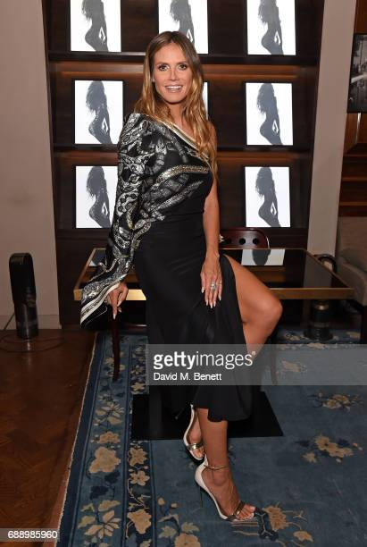 Heidi Klum attends the launch of new book 'Heidi Klum By Rankin' at Maison Assouline on May 27 2017 in London England
