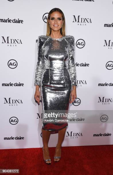Heidi Klum attends the Marie Claire's Image Maker Awards 2018 at Delilah LA on January 11 2018 in West Hollywood California