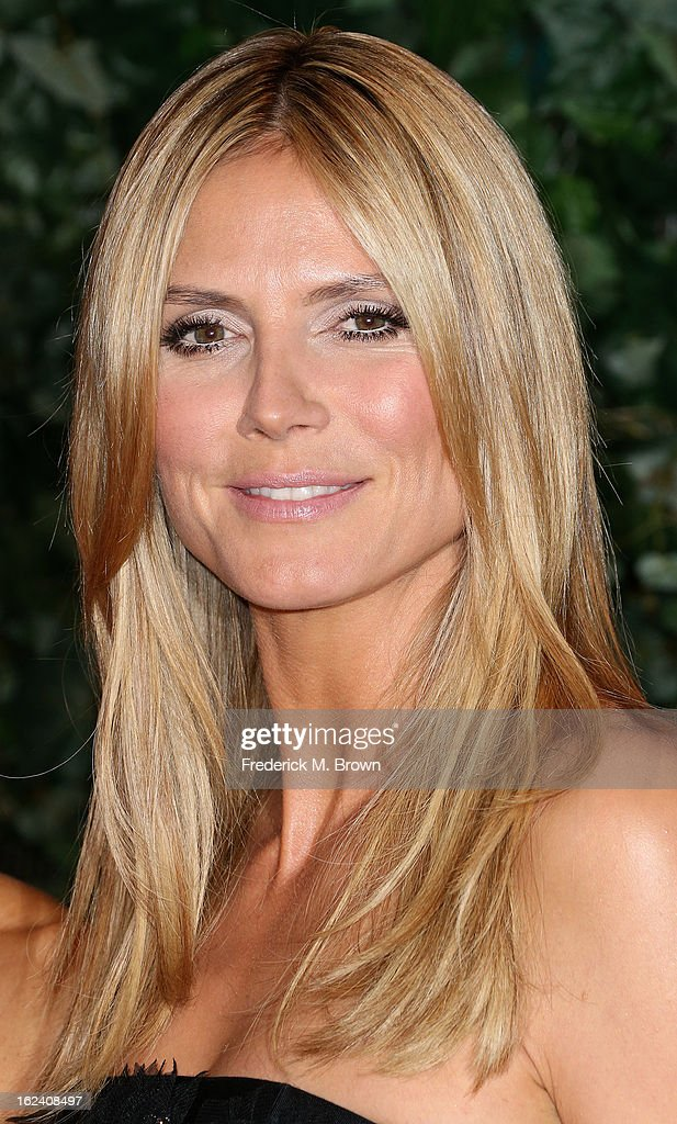 Heidi Klum attends the QVC Red Carpet Style Event, at the Four Seasons Hotel Los Angeles on February 22, 2013 in Beverly Hills, California.