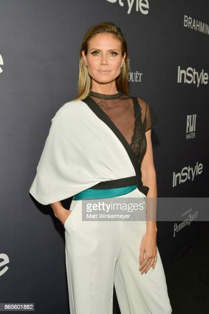 Heidi Klum attends the Third Annual InStyle Awards presented by InStyle at The Getty Center on October 23 2017 in Los Angeles California