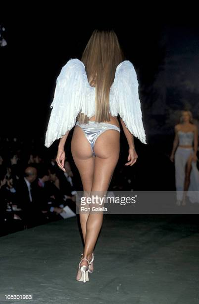 Heidi Klum during 5th Victoria's Secret Spring Fashion Show at Cipriani's in New York City New York United States