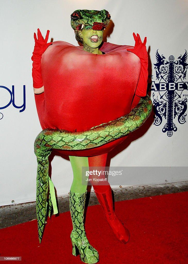 Heidi Klum during 7th Annual Heidi Klum Halloween Party, Sponsored by M&M's Dark Chocolate - Arrivals at Privilege in Los Angeles, California, United States.