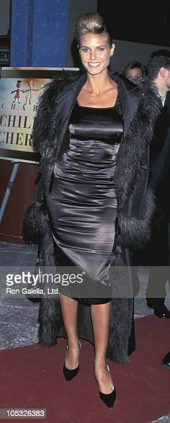 """Heidi Klum during """"Children At Heart"""" To Benefit Chabads Children of Chernobyl at Pier 60, Chelsea Piers in New York City, New York, United States."""