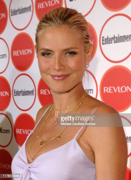 Heidi Klum during Entertainment Weekly Magazine 4th Annual Pre-Emmy Party - Red Carpet at Republic in Los Angeles, California, United States.