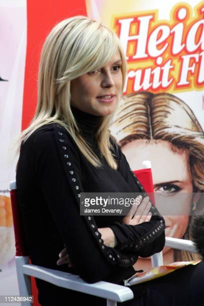 "Heidi Klum during Heidi Klum Promotes Her New ""My Favorite Candies"" Line by Hillside Candy at Jacob Javitz Center in New York City, New York, United..."
