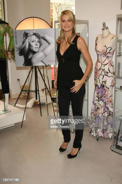 Heidi Klum during Heidi Klum showcases Mouawad's jewelry at 'Theodore' at the 'Groove' in Los Angeles California United States