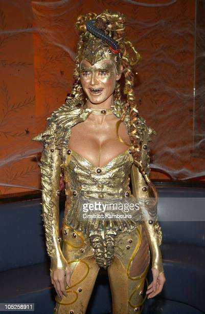 Heidi Klum during Heidi Klum's 4th Annual Haunted Halloween Bash Sponsored by CMA North America at LQ in New York City New York United States