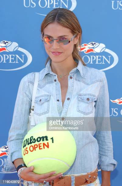 """Heidi Klum during Official US Open celebrity Men's singles finals """"Buzz"""" party hosted by the USTA at USTA National Tennis Center in Flushing Meadow,..."""