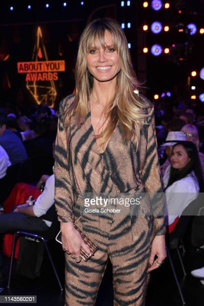 Heidi Klum during the 3rd ABOUT YOU Awards at Bavaria Studios on April 18 2019 in Munich Germany