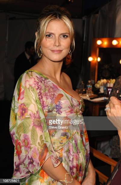 Heidi Klum during The 57th Annual Emmy Awards Governors Ball at Shrine Auditorium in Los Angeles California United States