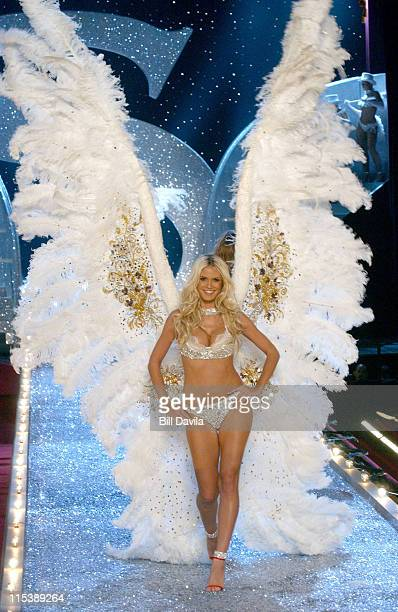 Heidi Klum during The 9th Annual Victoria's Secret Fashion Show Arrivals and Runway at Regiment State Armory in New York City New York United States