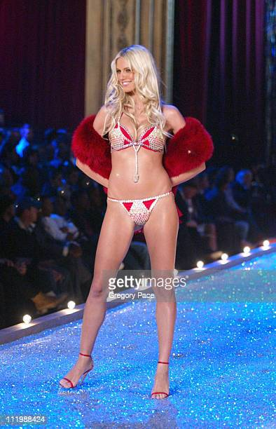 Heidi Klum during The 9th Annual Victoria's Secret Fashion Show Runway at Lexington Avenue Armory in New York City New York United States