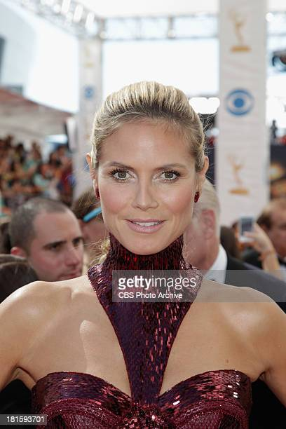 Heidi Klum from Project Runway on the red carpet for the 65th Primetime Emmy Awards  which will be broadcast live across the country 8001100 PM ET/...