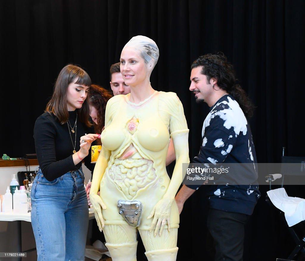 Celebrity Sightings In New York City - October 31, 2019 : News Photo
