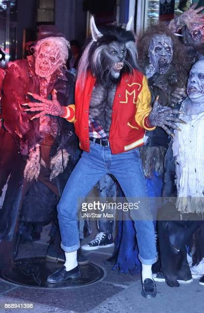 Heidi Klum is seen at Heidi Klum's 18th Halloween Party on October 31 2017 in New York City