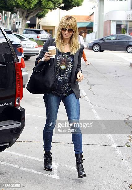 Heidi Klum is seen on February 02 2014 in Los Angeles California
