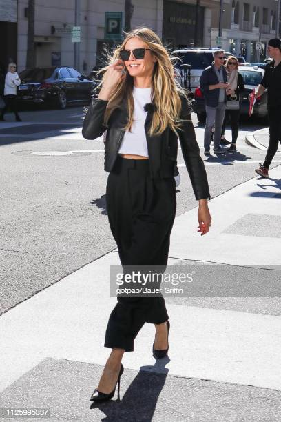 Heidi Klum is seen on February 19 2019 in Los Angeles California