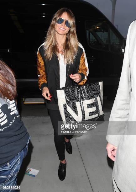 Heidi Klum is seen on June 21 2018 in Los Angeles CA