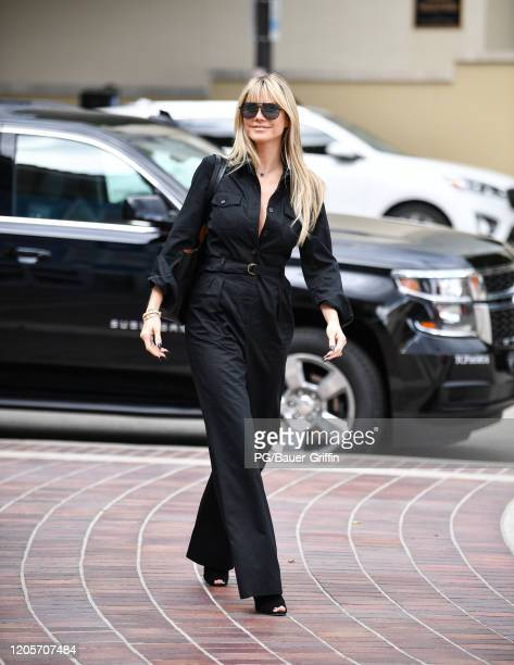 Heidi Klum is seen on March 07 2020 in Los Angeles California
