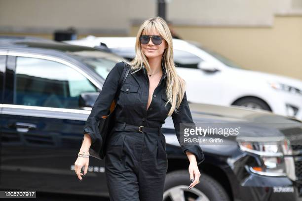 Heidi Klum is seen on March 07, 2020 in Los Angeles, California.