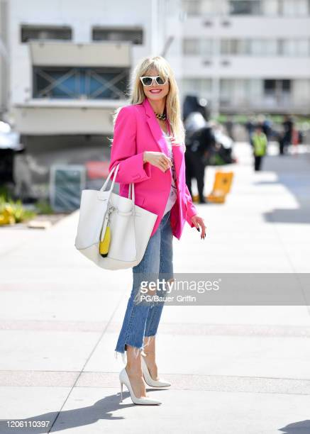 Heidi Klum is seen on March 08, 2020 in Los Angeles, California.