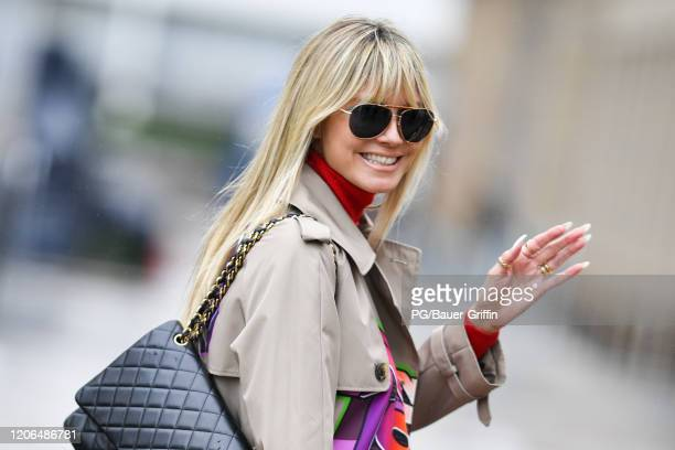 Heidi Klum is seen on March 10 2020 in Los Angeles California