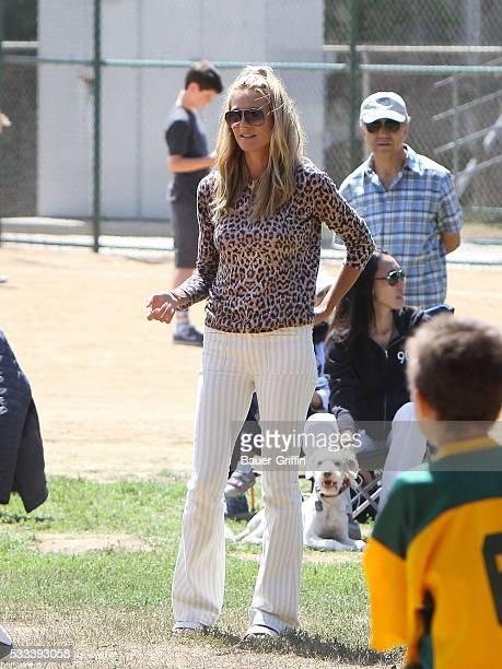 Heidi Klum is seen on May 21 2016 in Los Angeles California