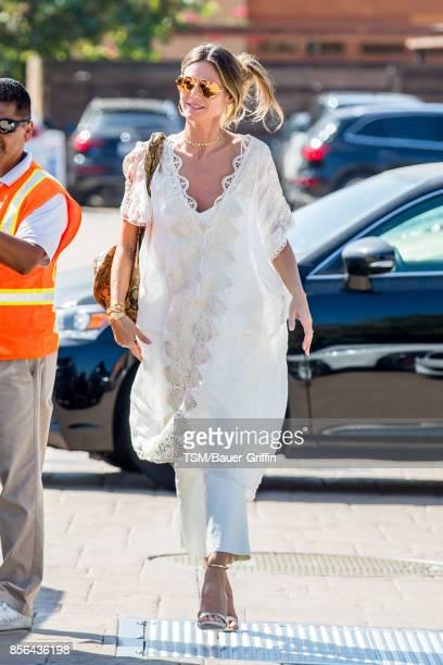 Heidi Klum is seen on October 01 2017 in Los Angeles California