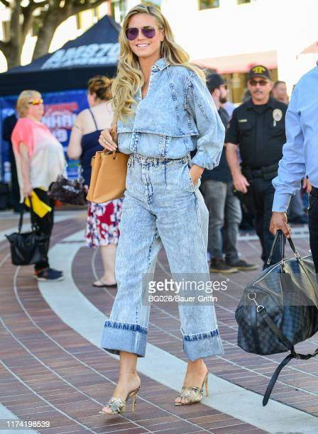 Heidi Klum is seen on October 06, 2019 in Los Angeles, California.