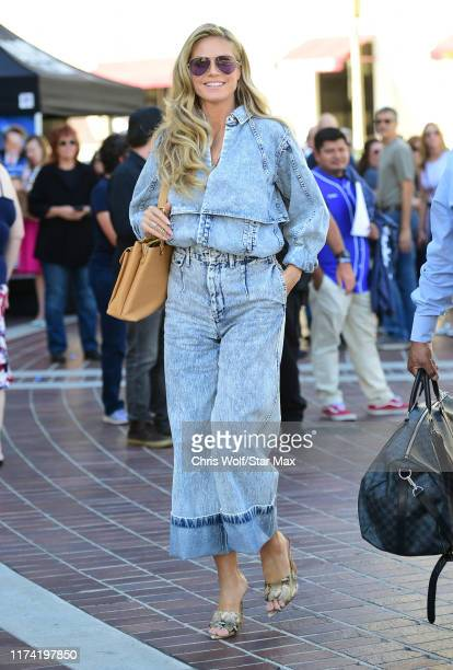 Heidi Klum is seen on October 6 2019 at Los Angeles