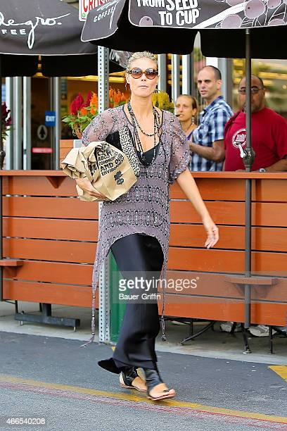 Heidi Klum is seen on September 22 2012 in Los Angeles California