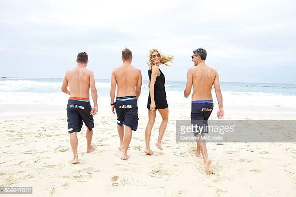 Heidi Klum launches Heidi Klum Man at Bondi Beach on January 25 2016 in Sydney Australia