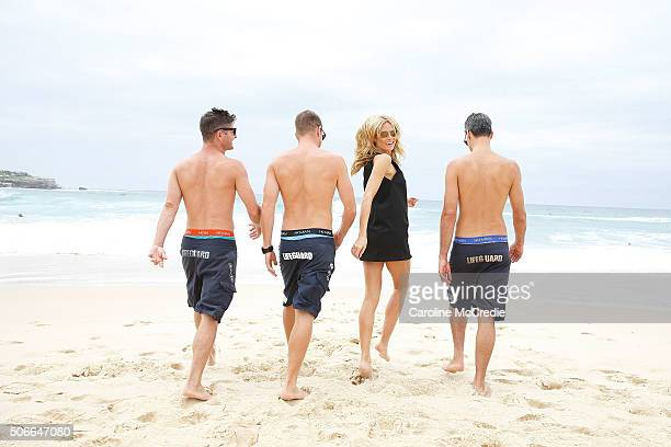Heidi Klum launches Heidi Klum Man at Bondi Beach on January 25 2016 in Sydney Australia
