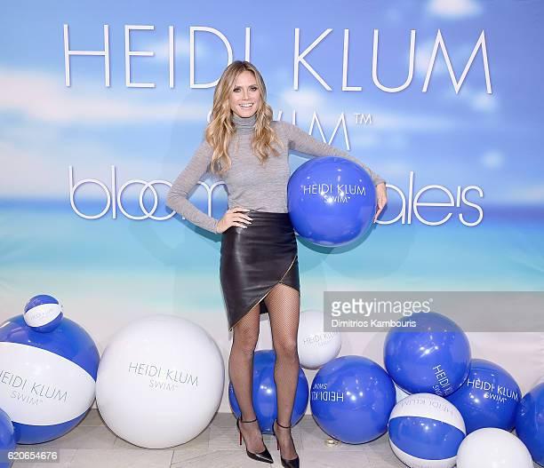 Heidi Klum launches Heidi Klum Swim at Bloomingdale's 59th Street on November 2 2016 in New York City