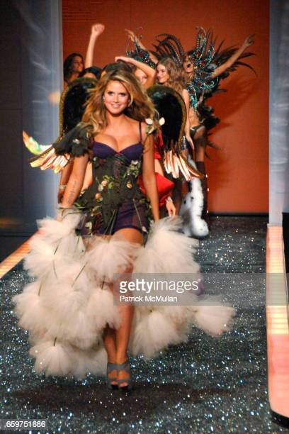 Heidi Klum on the Runway at the 2009 Victoria's Secret Fashion Show at The Armory on November 19 2009 in New York City Heidi Klum