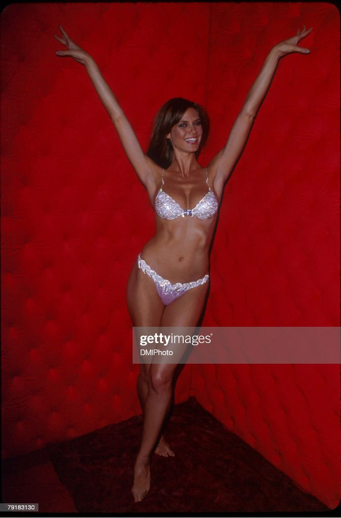 Heidi Klum Models $12.5 Million Jeweled Under Garments to be Shown at Upcoming Victoria's Secret Runway Show : News Photo