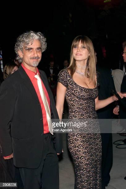 Heidi Klum with Ric Pepino at the Vanity Fair Oscar Party at Morton's in Los Angeles CA Photo Evan Agostin / ImageDirect