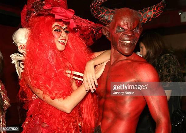 Heidi Klum with Satan