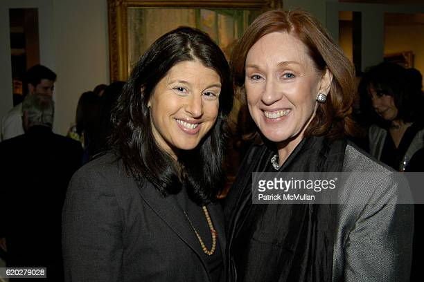 Heidi Krupp and Margaret McBride attend Book Launch for HEATHER BAUER'S THE WALL STREET DIET at BerryHill Galleries on April 3 2008 in New York City