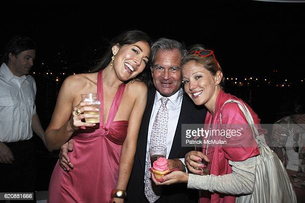 Heidi Lee, Mark Dreier and guest attend Hot Pink Birthday Bash for HEIDI LEE at Seascape Yacht on August 20, 2008 in New York City.