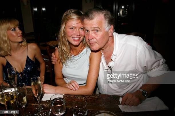 Heidi Leiser and John Dizard attend CHEZ JACQUELINE celebrates HEIDI LEISER at Chez Jacqueline on August 20 2009 in New York City