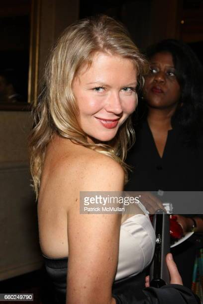 Heidi Leiser attends Celebrating Fashion Gala Awards Dinner to Support The GORDON PARKS Foundation at Gotham Hall on June 2 2009 in New York City