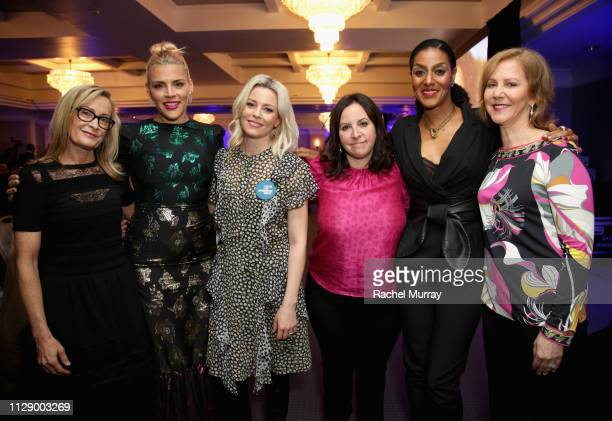 Heidi Lindelof Busy Philipps Elizabeth Banks Ali Rushfield Sarah Jones and Nancy Northup attend The Center for Reproductive Rights Inaugural Los...