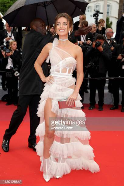 Heidi Lushtaku attends the screening of Les Plus Belles Annees D'Une Vie during the 72nd annual Cannes Film Festival on May 18 2019 in Cannes France