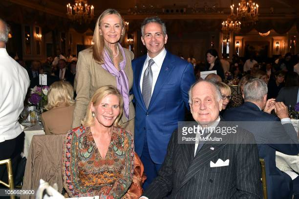 Heidi McWilliams Bonnie Pfeifer Evans David Weinreb and Ronald S Lauder attend Alzheimer's Drug Discovery Foundation's Ninth Annual Fall Symposium...