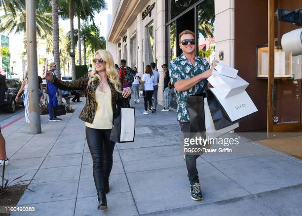 Heidi Montag and Spencer Pratt are seen on August 09 2019 in Los Angeles California