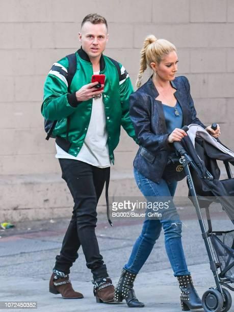 Heidi Montag and Spencer Pratt are seen on December 12 2018 in Los Angeles California