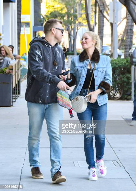 Heidi Montag and Spencer Pratt are seen on February 08 2019 in Los Angeles California