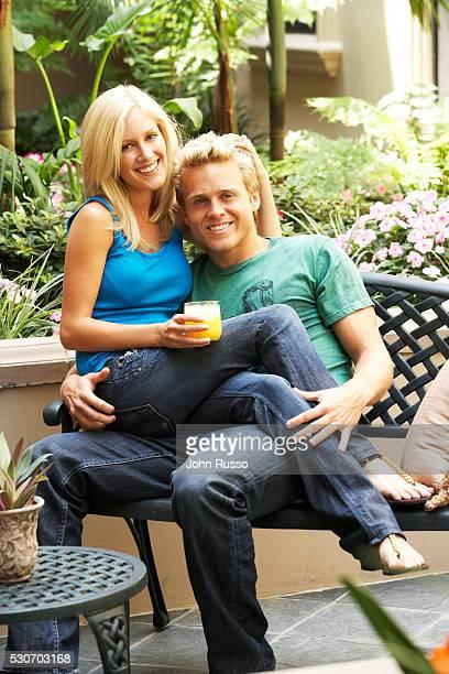 Heidi Montag and Spencer Pratt at Home